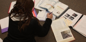 Features:  Teachers, students and professionals offer study tips for final exams