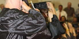 Features:  Faculty members offer advice to future graduates