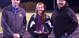 News:  Senior named Kaw Valley State Bank Distinguished Student