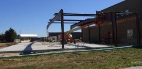 News:  Construction to school building, grounds still in progress