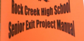 News:  Juniors begin exit project process, while seniors prepare for early-bird presentations