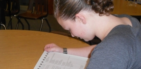 News:  Students take PSAT, ACT tests in October