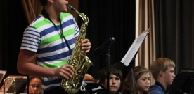 News:  Band and choir concert rings in the Christmas season