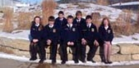 News:  FFA travels to Winter CDE speech competitions