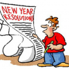 Features:  Students select New Year's resolutions