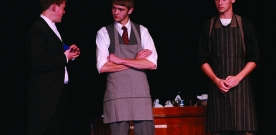 News: Students perform 'The Matchmaker' for Fall Play