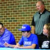 Sports: Senior baseball player signs with University of Dubuque