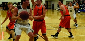 Sports: Varsity boys basketball begins season with wins