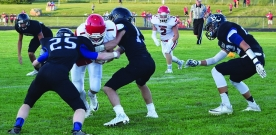 Sports:  Football team faces challenges during season