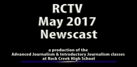 Videography: RCTV May 2017 Newscast