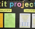News: Early bird seniors prepare to present Exit Projects