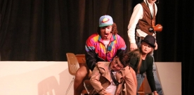 News: High school students perform murder mystery for Fall Play