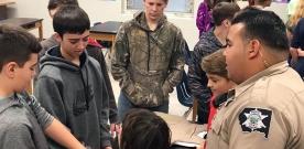 News:  Rock Creek sponsors Career Day for junior high students