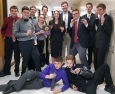 News:  Forensics begins season with second-place finish at tournament