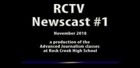 Videography: RCTV 2018-2019 Newscast #1