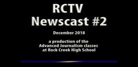 Videography: RCTV 2018-2019 Newscast #2