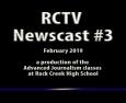Videography: RCTV 2018-2019 Newscast #3