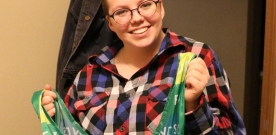 Features:  Senior develops leadership skills through 4-H involvement