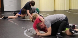 Sports:  Girls wrestling team finds success on the mats this season