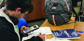 News:  Math classes pilot new curriculum this semester