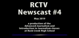 Videography: RCTV 2018-2019 Newscast #4