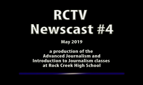 Videography: RCTV 2018-2019 Newscast #4