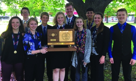 News: Forensics earns state championship, while journalism places second at state competitions