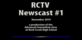 Videography: RCTV 2019-2020 Newscast #1