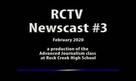 Videography: RCTV 2019-2020 Newscast #3