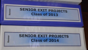 News:  Exit project committee makes minor changes to project requirements