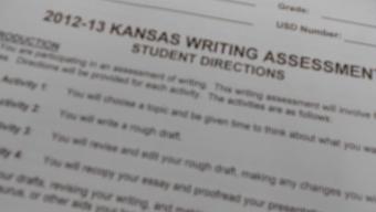 News:  Juniors complete Kansas state writing assessments in November