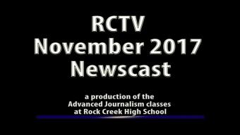 Videography: RCTV November 2017 Newscast