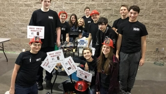 News:  Robotics finishes season at Arkansas regional competition