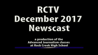 Videography: RCTV December 2017 Newscast