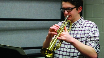 News:  Junior participates in state honor band