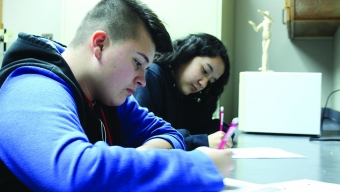 Features:  New sophomores reflect on transitioning between schools