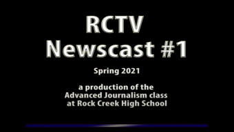 Videography: RCTV 2020-2021 Newscast #1
